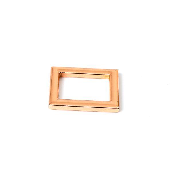 Metal Rectangle Ring